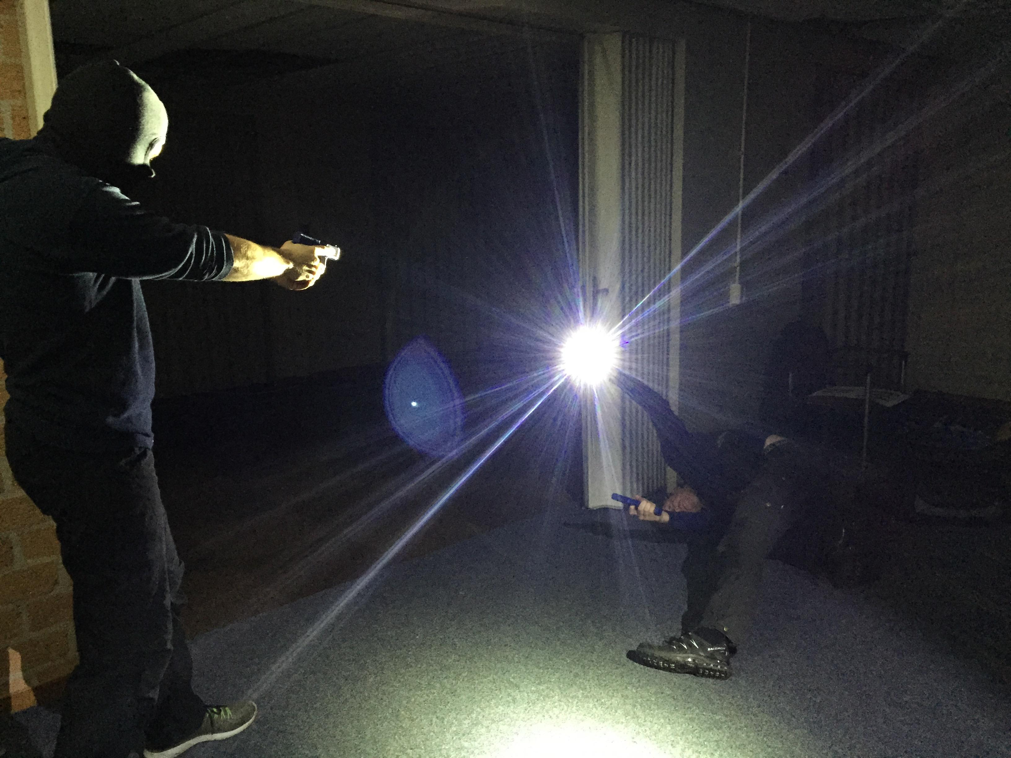 Gebruik zaklamp Mysafehouse